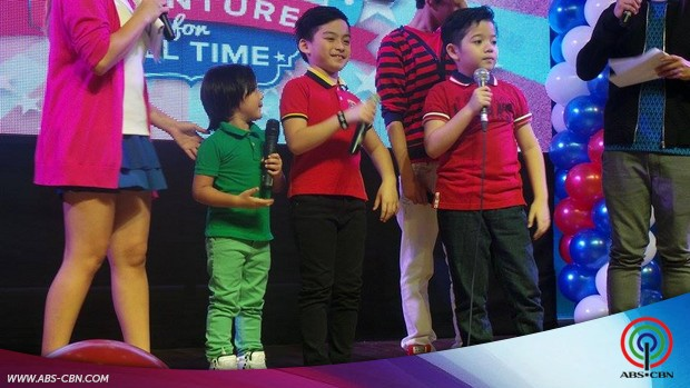 Star Magic Kids at the launch of Flyhigh Adventures For All Time