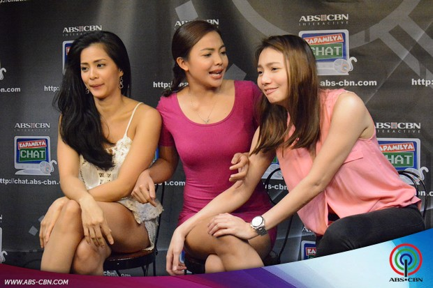 Star Magic Angels show off their sexiness on Kapamilya Chat