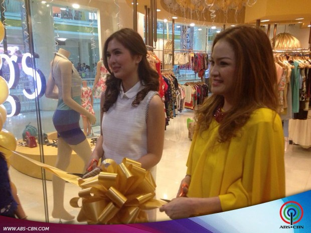 Sofia Andres at the store opening of Mags