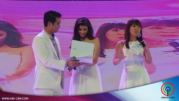Liza, happy with her new endorsement