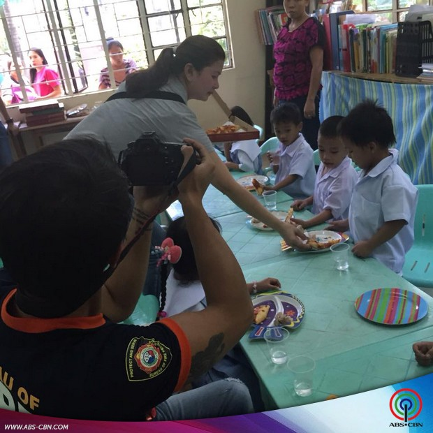 JM de Guzman gives back to the kids of Hope Worldwide Philippines