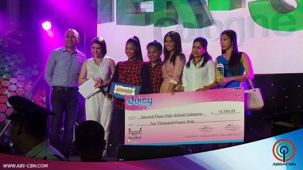 Kathryn at the Juicy Cologne Dance Competition Finals