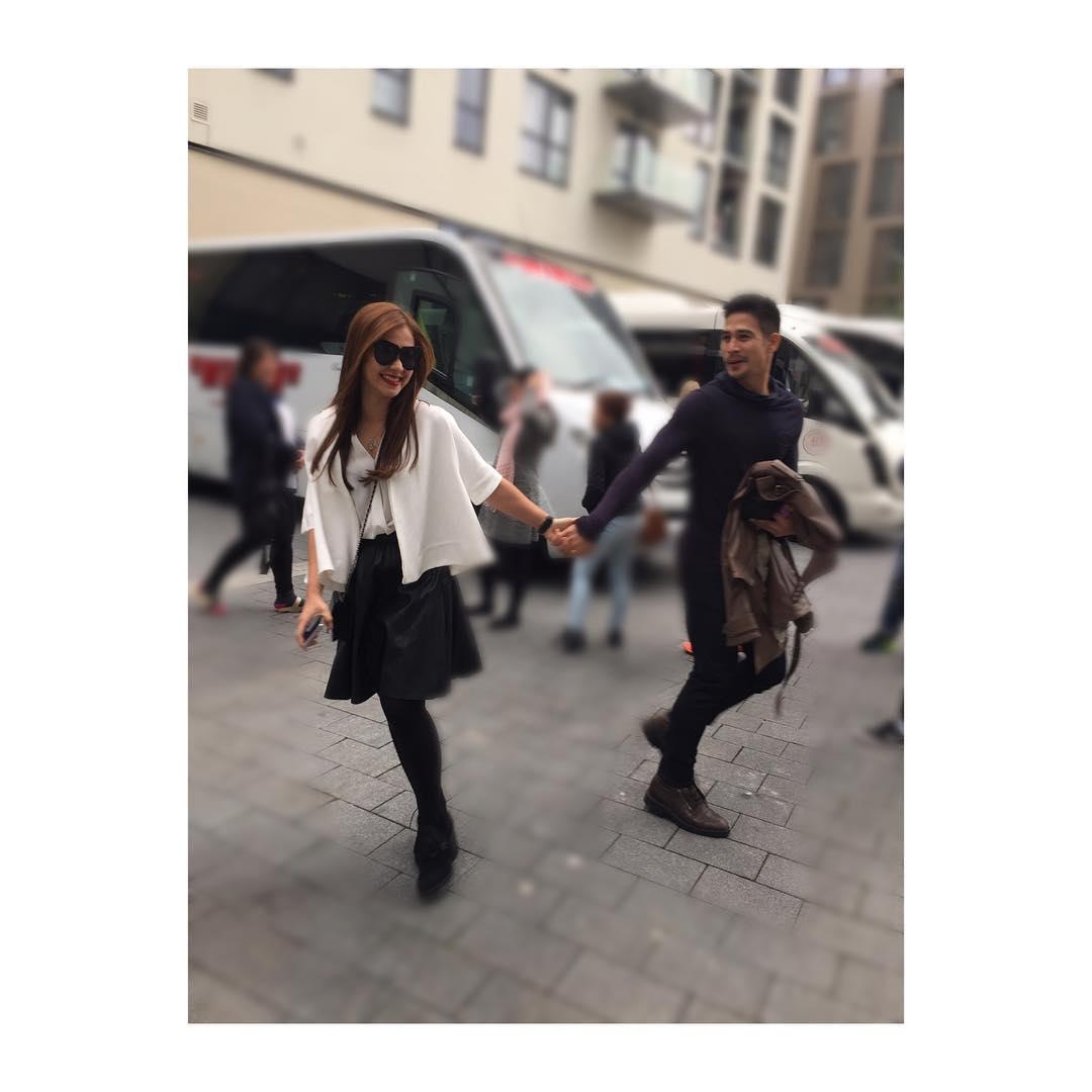 Maja and Piolo explore London together