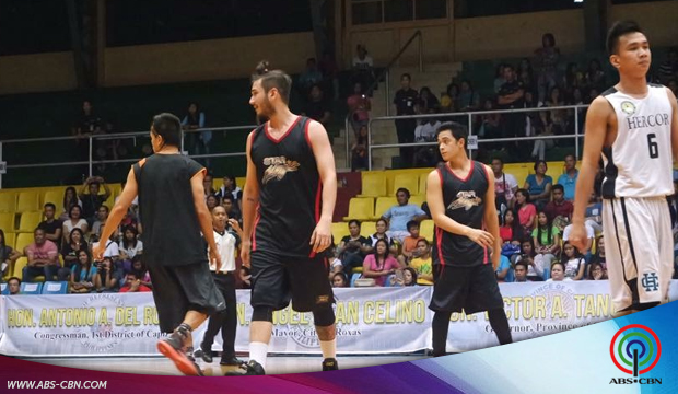 Star Magic Basketball team escaped a win vs Hercor Jaguars