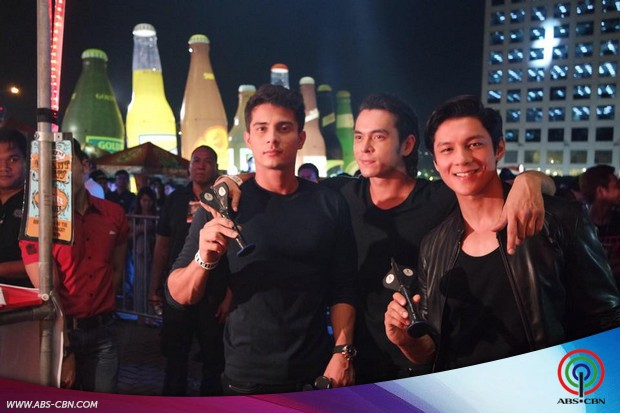 Jake, Joseph and Ejay join the Oktoberfest