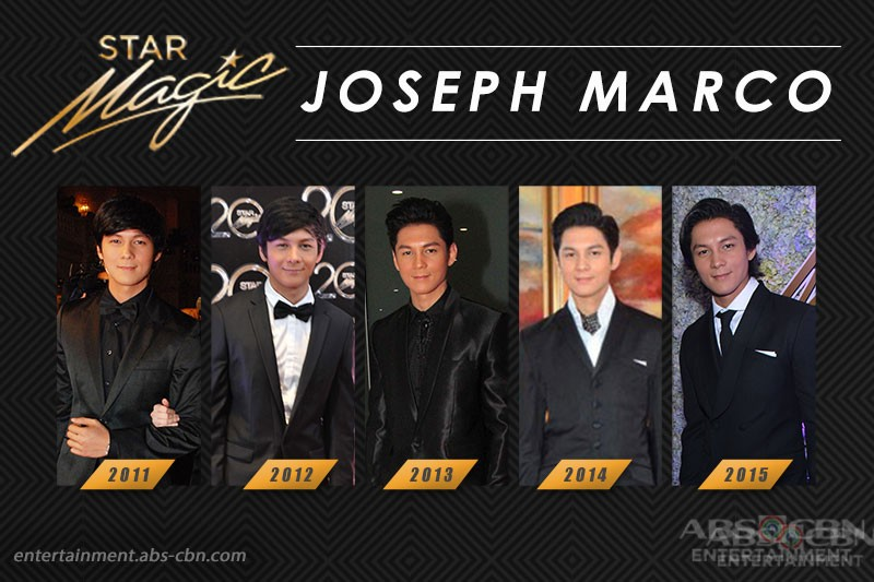 Star Magic Ball Throwback: Joseph Marco through the years
