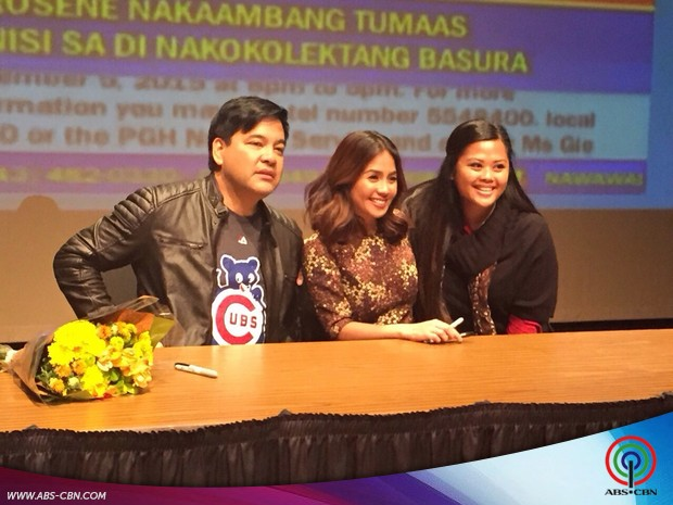 Kaye Abad in Chicago for DZMM Global Pinoy Singing Idol