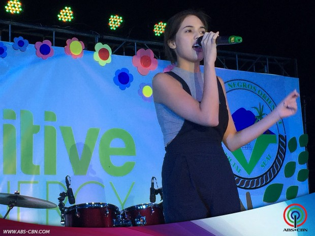 Michelle Vito and Jon Lucas in Dumaguete for EDC Night