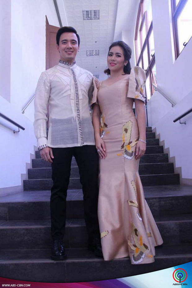 Angeline quinto and erik santos