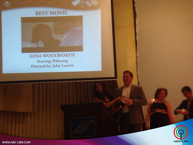 Edsa Woolworth wins Best Movie in MAM Awards