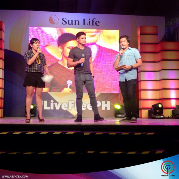 Piolo Pascual at the #LiveFreePH Freedom Celebration