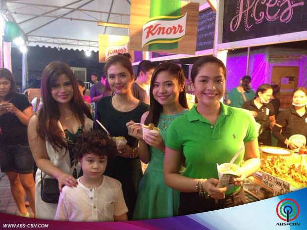 Star Magic Artists join Nutrition Program Battling for Malnutrition
