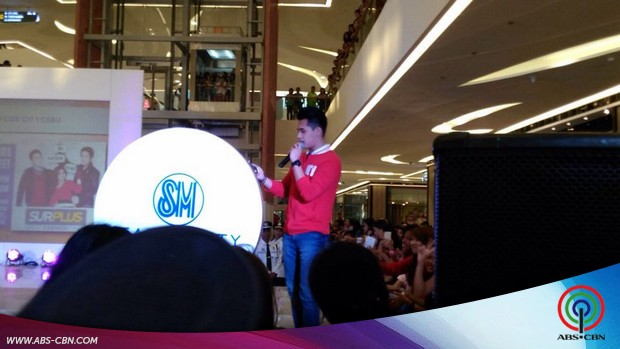 Meet and Greet with Loisa, Joshua and Marlo at SM City Cebu