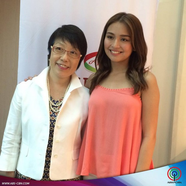 Kathryn Bernardo at the Umami Culinary Challenge 2016