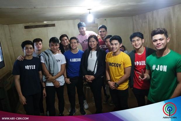 Hashtags binisita ang mga kapamilya sa Ilocos