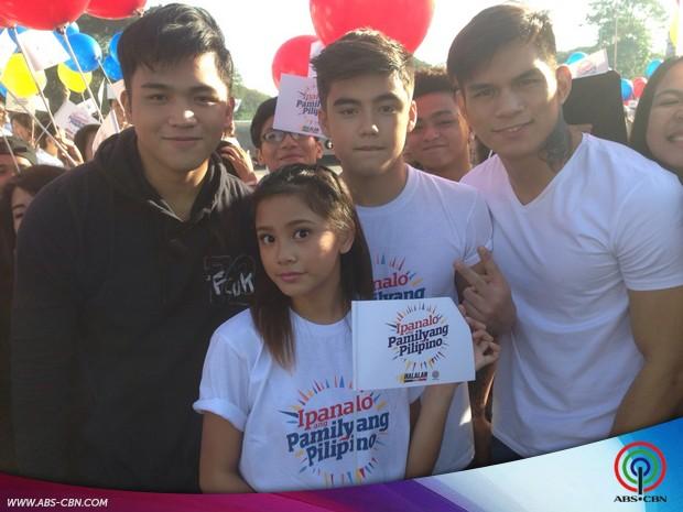BEHIND-THE-SCENES: BaiLona with Hashtags at the #ipanaloangpamilyangpilipino SID shoot