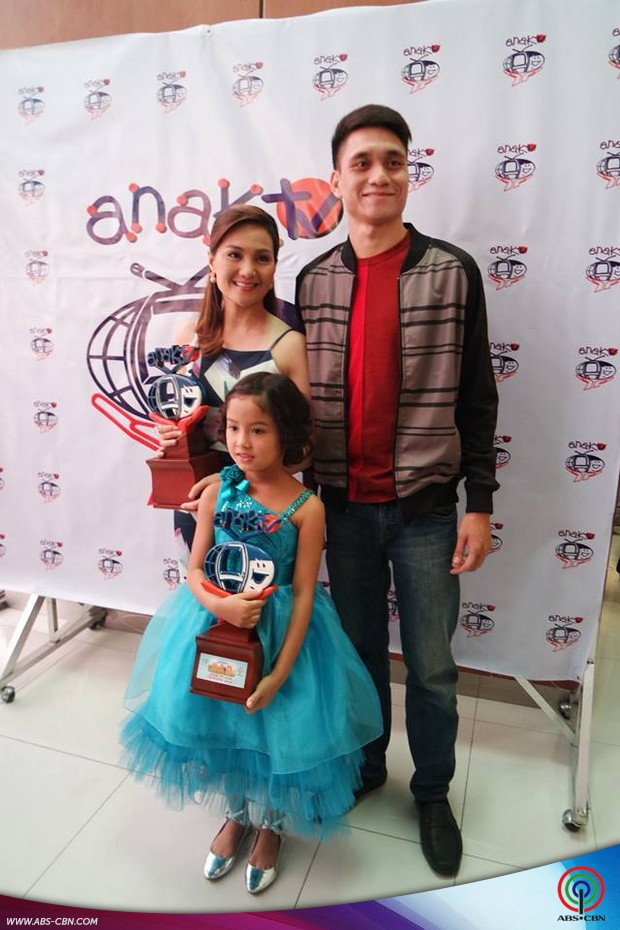 Star Magic Artists at the Anak TV award 2016