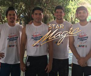 Star Magic artists at the 2016 Ipanalo Ang Pilipino SID shoot