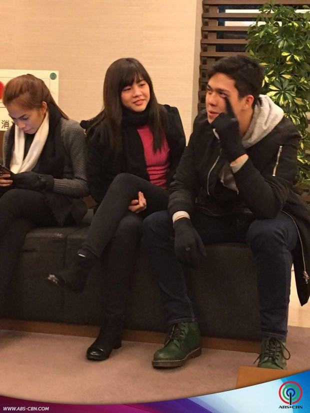 Vina, Janella and Elmo in Japan for Born For You