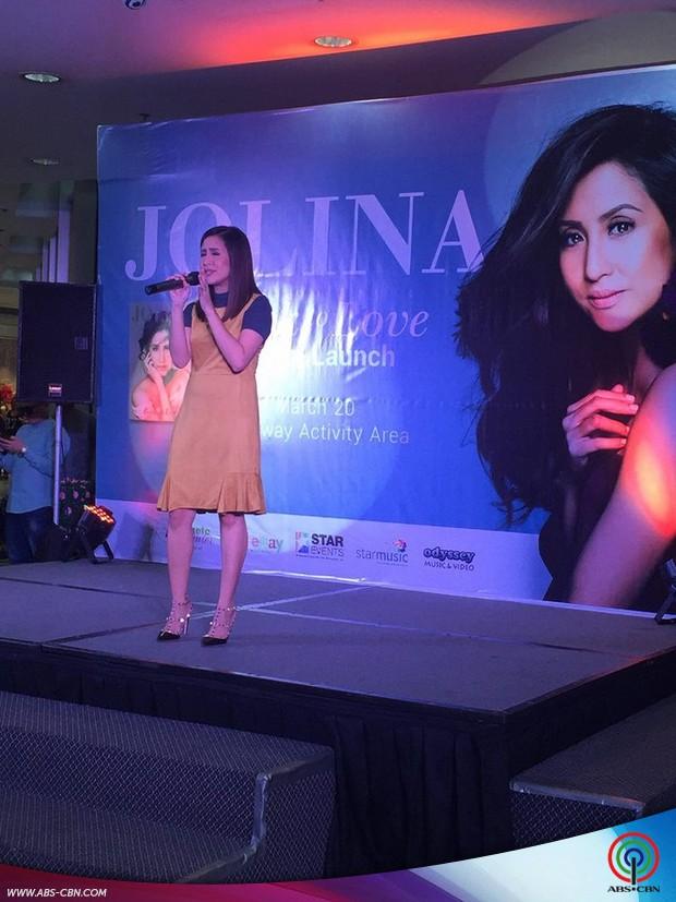 Jolina Magdangal Back to love album launch