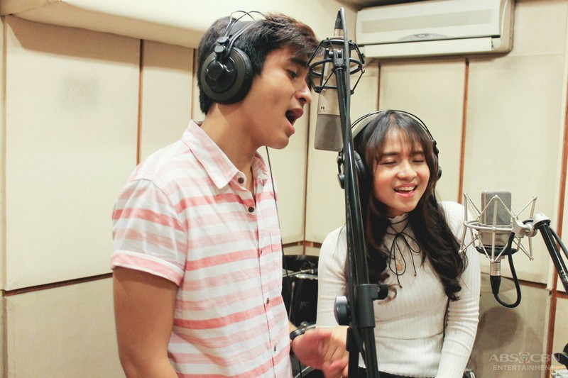 BTS: CJ and Kristel's new song cover