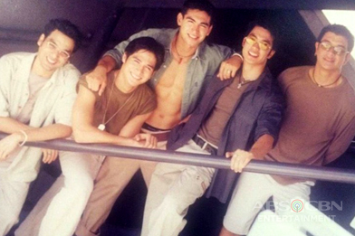 Throwback: Piolo, Jericho, Diether, Carlos and Bernard of The Hunks