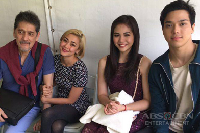 Jodi, Vina, Elmo and Janella at the Barrio Fiesta Sa London 2016