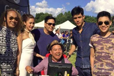 Kim, Xian and Darren at the London Barrio Fiesta 2016