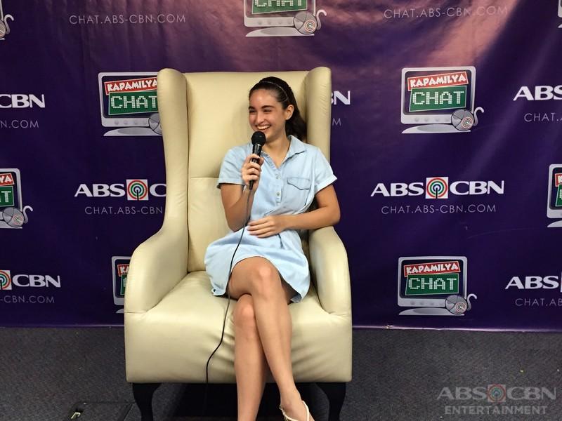 Coleen Garcia on Kapamilya Chat