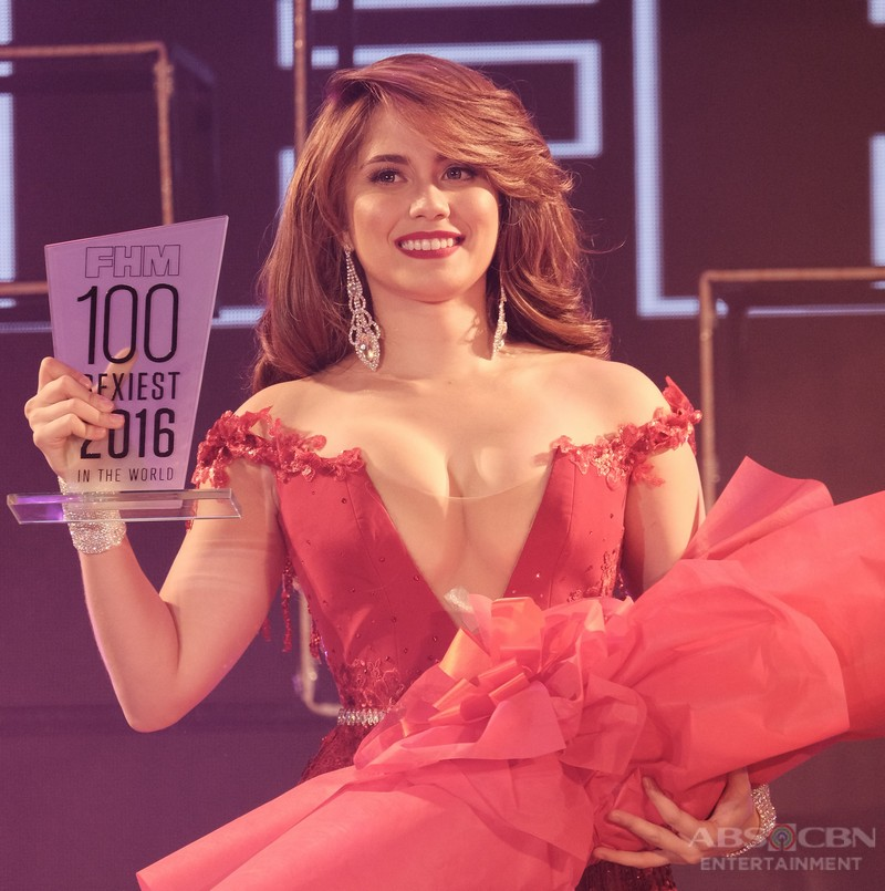 Star Magic artists at the FHM 100 Sexiest 2016