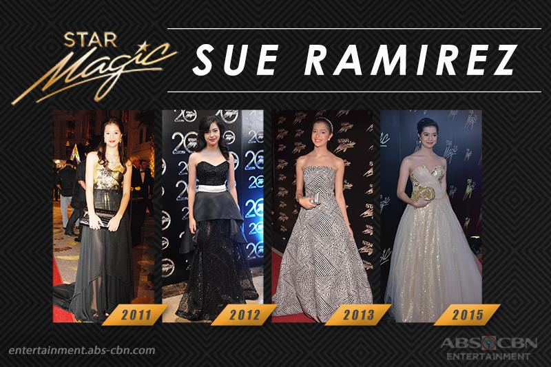 Star Magic Ball Throwback: Sue Ramirez through the years