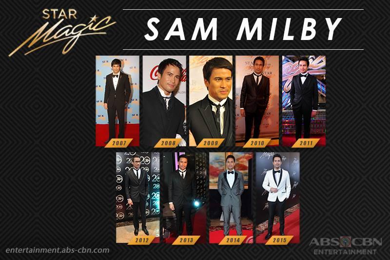 Star Magic Ball Throwback: Sam Milby through the years