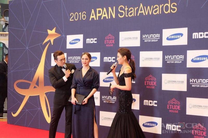 Jessy Mendiola at the 2016 APAN Star Awards