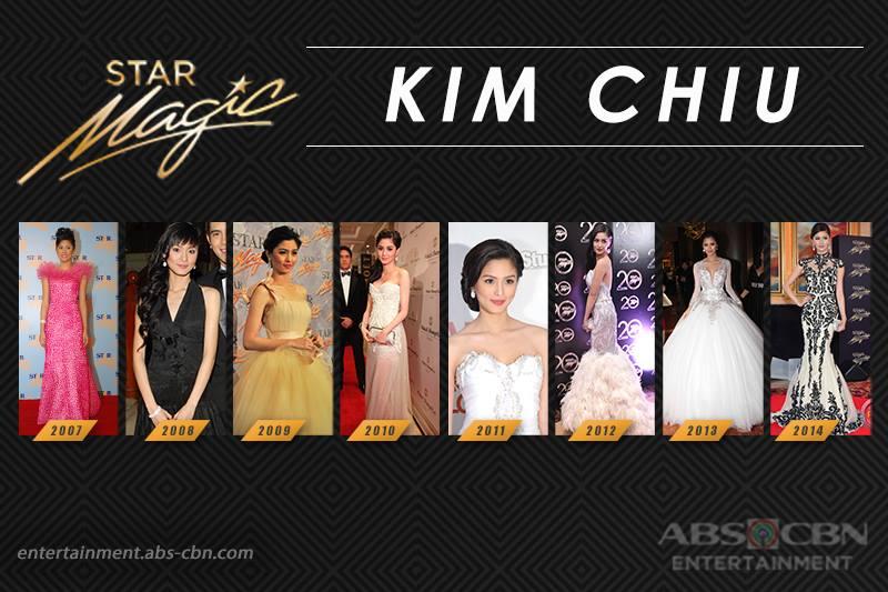 Star Magic Ball Throwback: Kim Chiu through the years