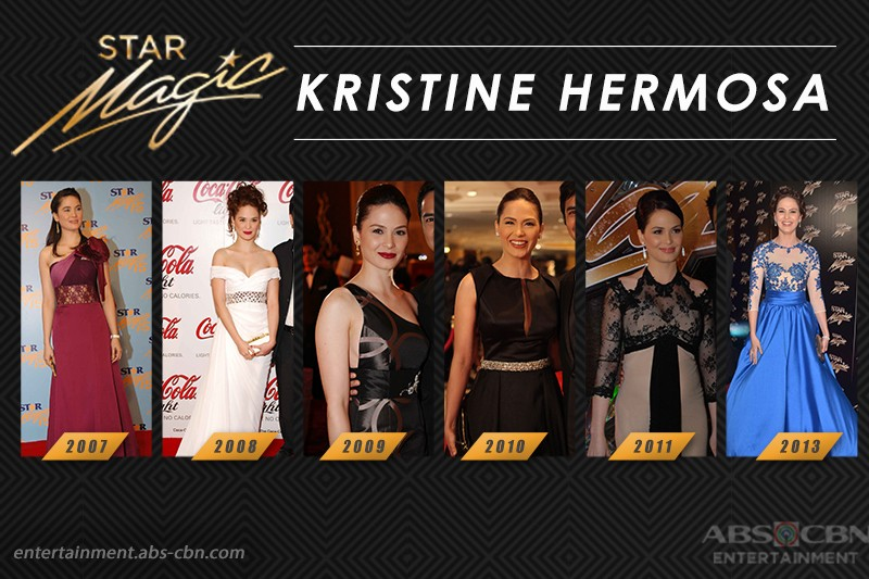 Star Magic Ball Throwback: Kristine Hermosa through the years