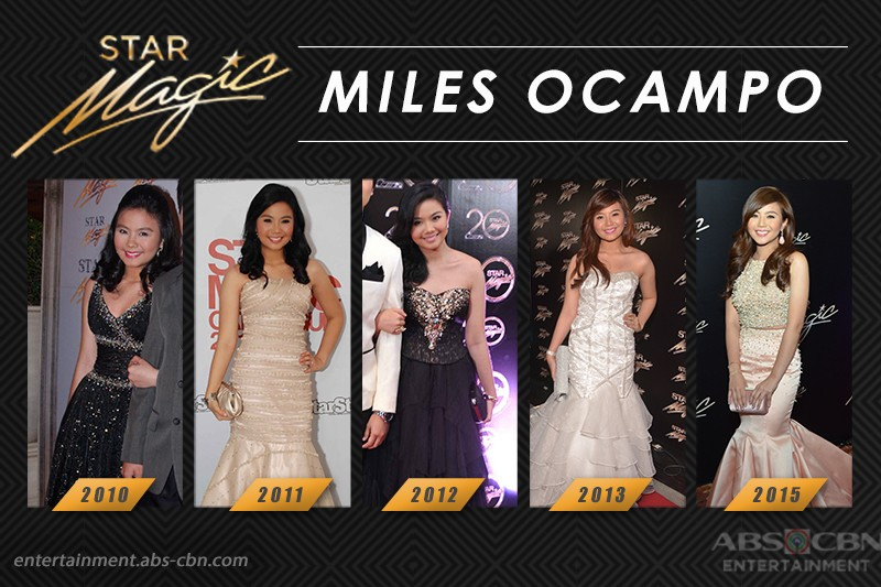 Star Magic Ball Throwback: Miles Ocampo through the years