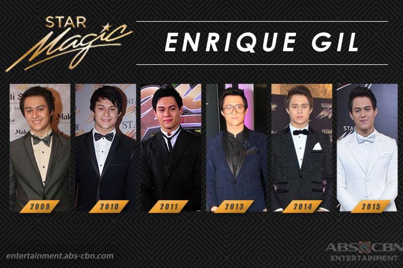 Star Magic Ball Throwback: Enrique Gil through the years