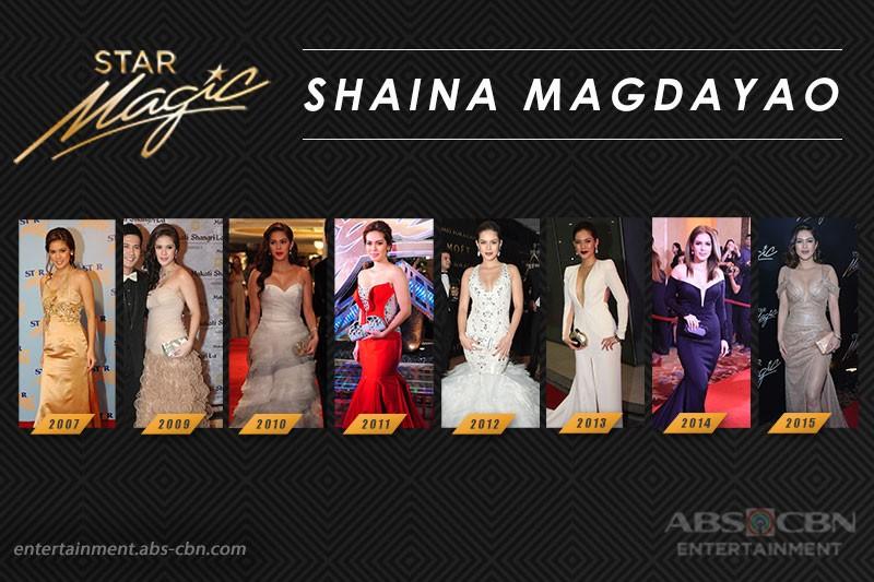 Star Magic Ball Throwback: Shaina Magdayao through the years