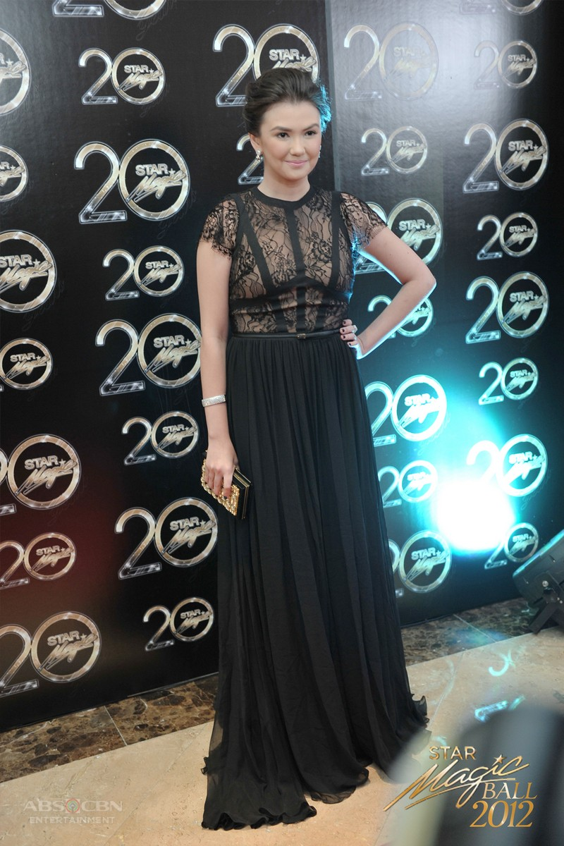 Star Magic Ball Throwback: Angelica Panganiban through the years