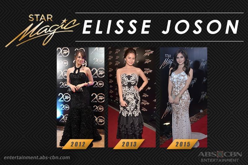 Star Magic Ball Throwback: Elisse Joson through the years