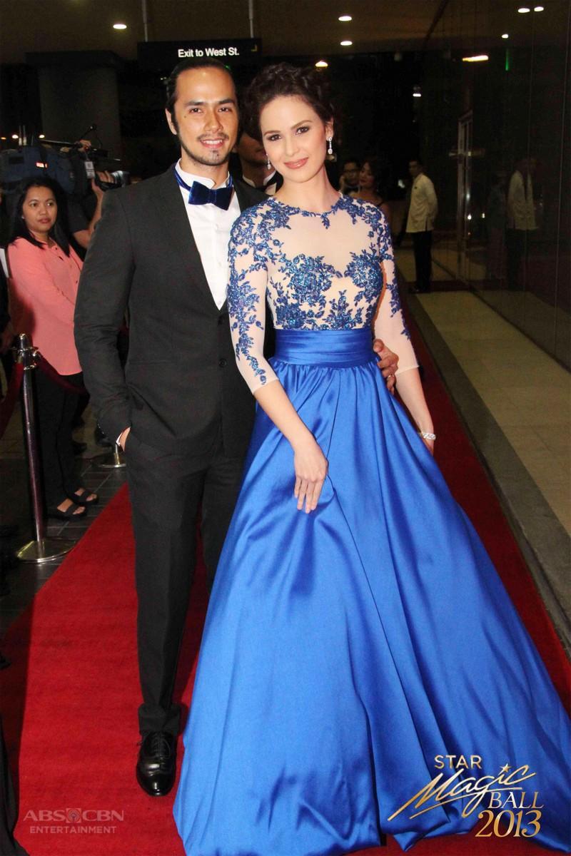 Star Magic Ball Throwback: Kristine Hermosa and Oyo Boy Sotto
