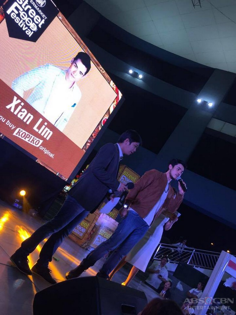 PHOTOS: Marlo and Xian at the Street Food Festival
