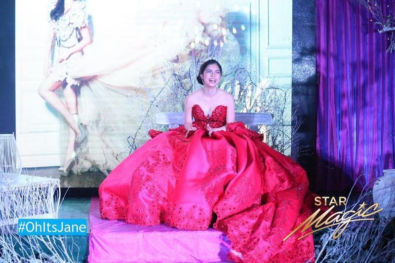 Girltrend Jane De Leon celebrates her 18th Birthday