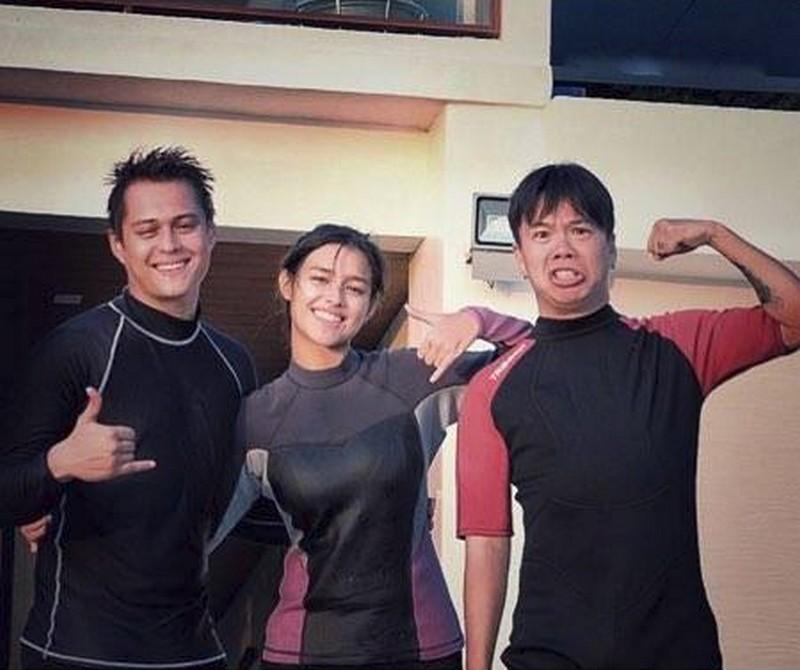 PHOTOS: LizQuen's Batangas Getaway