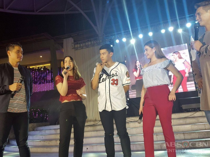 PHOTOS: Bea, Enchong and Julia at the Kapamilya Karavan Sinulog Festival