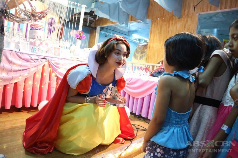 Arci Muñoz birthday charity with kids from Morong, Rizal