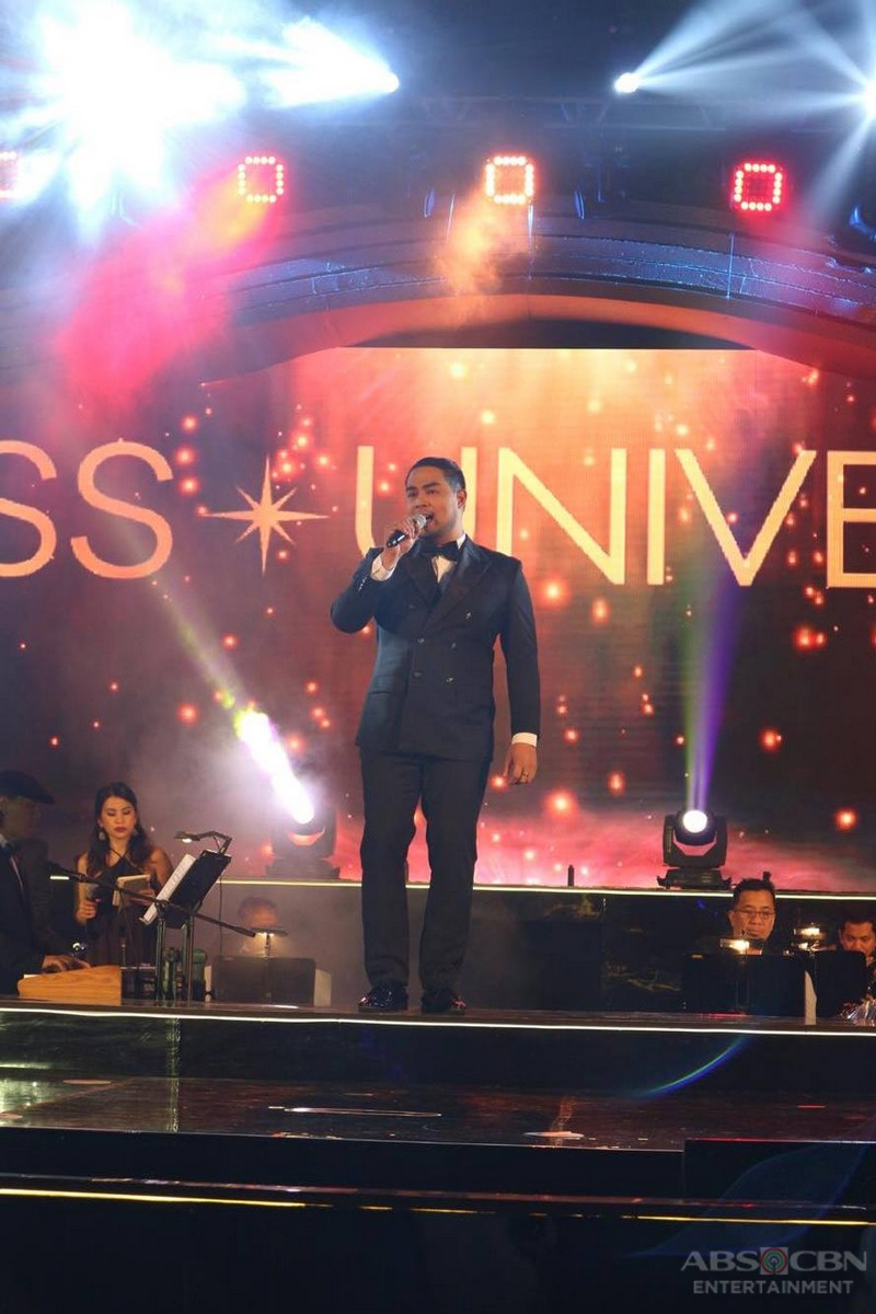 Jed Madela and Jona at the 65th Miss Universe Governor's Ball