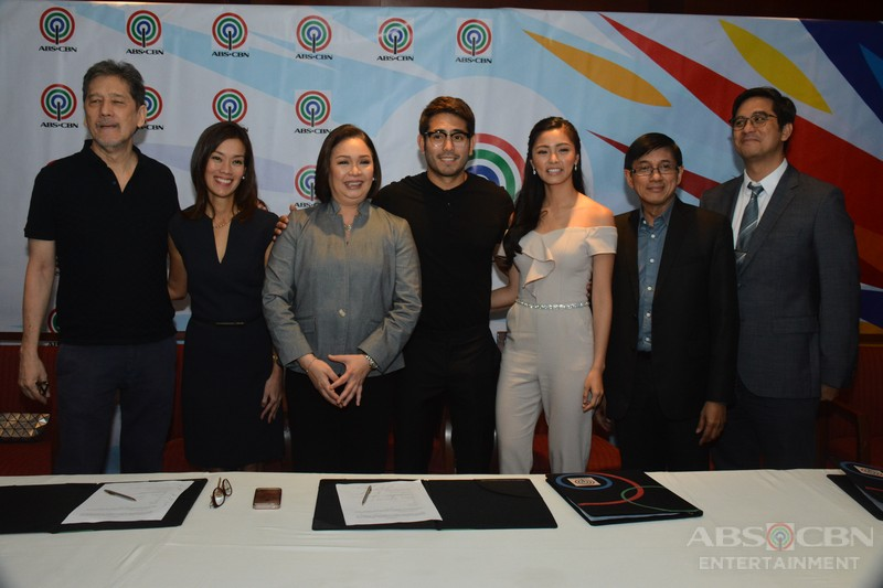 PHOTOS: KimErald signs contract with ABS-CBN