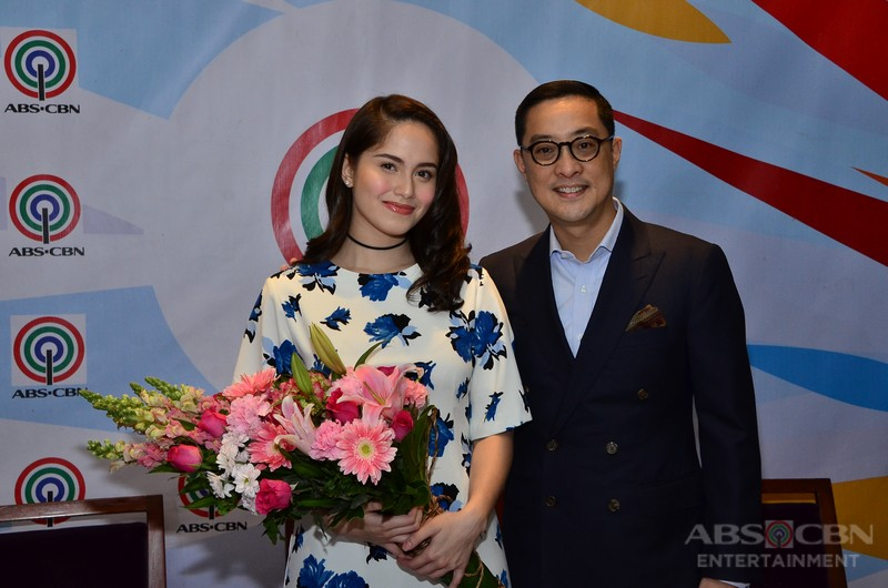 PHOTOS: Jessy Mendiola signs contract with ABS-CBN