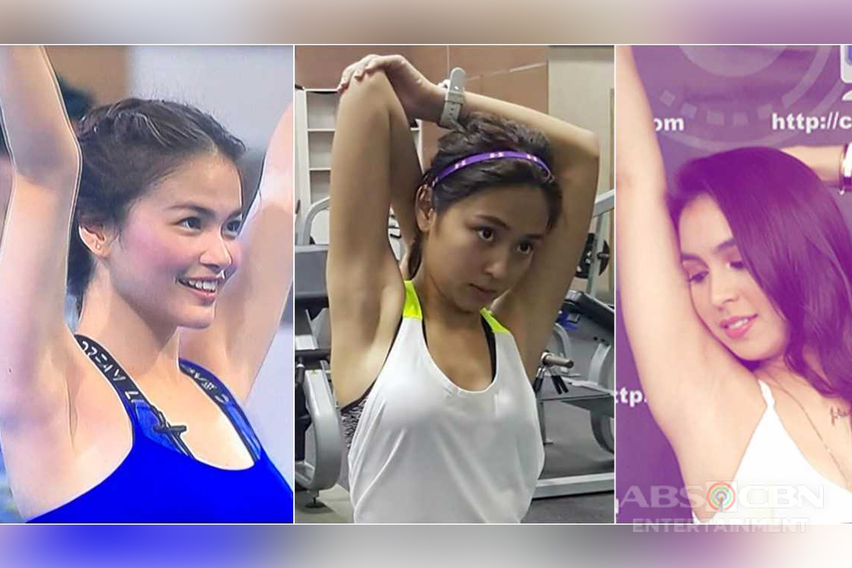 15 Celebrities who can confidently show their sexy underarms